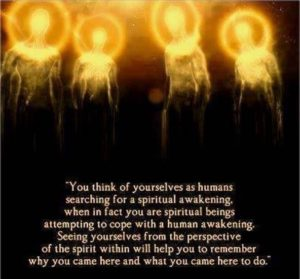 Guidance from our spirit guides